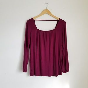 Old Navy Open Back Top